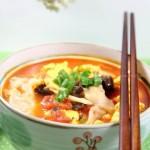西红柿鸡蛋揪面片(早餐菜谱)