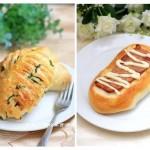 培根面包vs芝士面包(早餐菜谱)