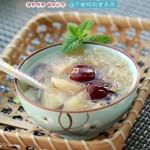 红枣银耳炖雪梨(堪比燕窝的美容甜品)