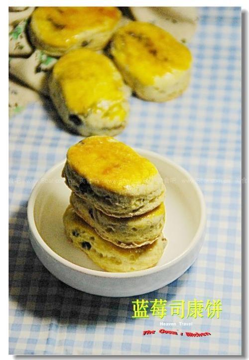 蓝莓司康饼
