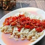 剁椒蒸金针菇(清蒸菜谱)