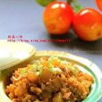 白萝卜糗饭(早餐菜谱)