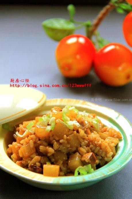 白萝卜糗饭