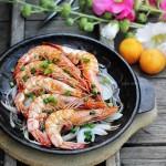 铁板大虾(海鲜家常菜谱)