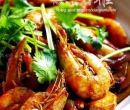 简版香锅虾