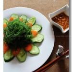 涼拌海發菜(低卡路里美食)