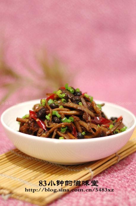 香烧茶树菇
