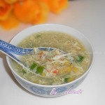 蟹肉玉米羹(营养靓汤)
