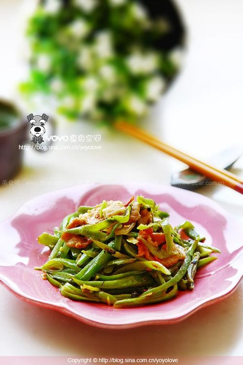 _炒油豆的素菜做法_炒油豆做_食谱家常-消阴虚火菜谱旺的图片