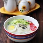 韩式豆浆面(营养又冰爽的冷面吃法)