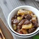 丁丁葫芦瓜酸辣炒牛肉(开胃下饭菜菜谱)
