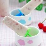 樱桃酸奶雪糕(自制冰棍)