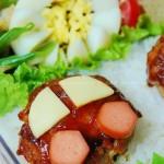 迷你汉堡肉饼(便当菜谱)