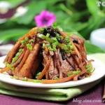 魚香豆腐(素菜菜譜)