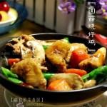 双孢菇烧仔鸡(荤菜菜谱)