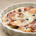 萨拉米披萨(早餐菜谱)