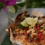 泰式柠檬烤鱼(烤箱菜谱)