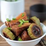豉汁排骨焖苦瓜(解暑开胃菜菜谱)