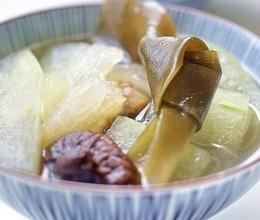 海带香菇冬瓜汤