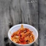 韩味泡菜虾(海鲜家常菜谱)