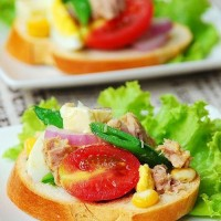 鮮蔬金槍魚沙拉