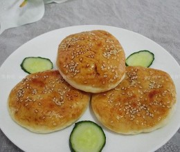 山西柳林芝麻烧饼