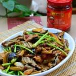 蒜蓉鳝片香菇(荤菜菜谱)