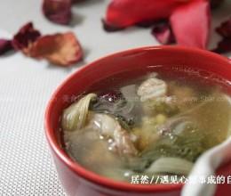 菜干黄豆煲猪盖骨