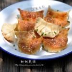 猪肉豆腐煎饺(早餐菜谱)