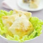 自制新疆烤包子(早餐菜谱)