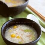 金枪鱼玉米蔬菜粥(早餐菜谱-5分钟就能搞定一锅营养粥)