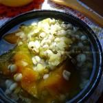 南瓜薏米绿豆汤(解暑菜谱)
