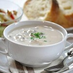 奶油蘑菇浓汤(西式菜谱)
