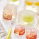冰凉水晶果冻(自制零食菜谱)