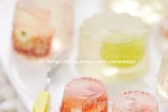 冰凉水晶果冻