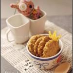 燕麦高纤饼(热量减半的粗粮饼菜谱)