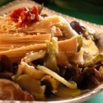 拌腐竹(凉菜菜谱)