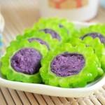 紫薯苦瓜圈(夏日减肥菜谱)