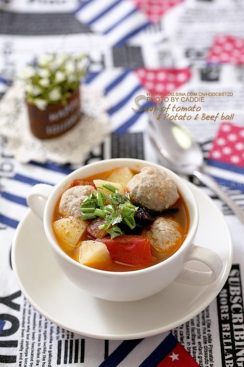 酒店秘籍菜谱牛肉汤(夏天开胃番茄丸子)12月土豆菜谱图片