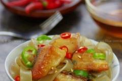 腊鱼炖粉条