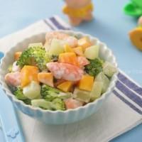 鮮芒什蔬鮮蝦沙拉和綠豆沙拉