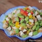 大头菜炒毛豆(浙江菜谱)