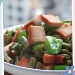 酸豆角炒圆椒(开胃菜菜谱)