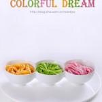 胡萝卜、菠菜、紫苋菜面条(早餐菜谱)