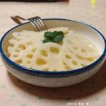 涼拌藕片(素菜菜譜)