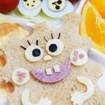 海綿寶寶早餐吐司面包(早餐菜譜)