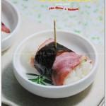 培根黄瓜饭团(早餐菜谱)