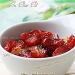 油浸番茄干(蜜饯菜谱)