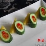 黄瓜盏(立秋减肥菜谱)