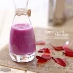 紫薯奶昔(粗粮饮品菜谱)